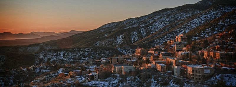 Sunrise in Jerome. Photo by Ron Chilston.